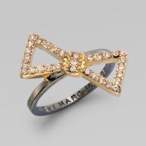 Marc by Marc Jacobs Rhinestone Bow Ring